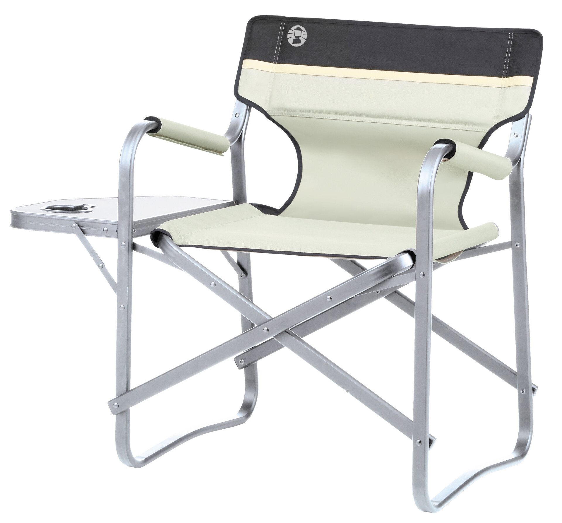 North Camp Stuhl Coleman Deck Chair Camp Stool With Storage Beige